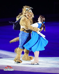 Belle & The Beast - Beauty and the Beast (DDB Photography) Tags: disney disneyonice ice waltdisney disneyphoto disneypictures disneycharacters dreambig mickey mickeymouse minnie minniemouse mouse feld feldentertainment donaldduck duck goofy figure skate figureskate show iceshow prince princess princesses castle animation disneymovie movie animatedmovie fairytale story rogerscentre rogers skydome toronto ontario canada princessbelle belle princeadam adam beauty beast gaston cogsworth lumiere potts chip