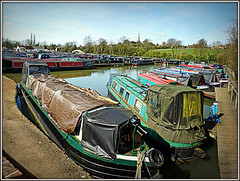 Braunston Marina - yet another view! (Jason 87030) Tags: barge boats narrowbaouts quay marina braunston northants northamptonshire water leisure moorings march 2017 sony alpha a6000 ilce nex tag hdr pan panorama decking view shot scene sunny uk england greatbritain unitedkingdom canal gb
