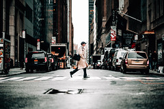 New York (Tim RT) Tags: tim rt usa new york nyc manhattan america 5th ave street man crossing road cross crosswalk walk move life lifestyle visual inspired hyperbeast flickr beautiful fuji fujiflm xt xt2 xf56mmf12r bokeh shot picture art 2017 popular