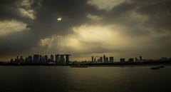 Singapore (Askjell) Tags: harbour singapore anchorage skyline waterfront