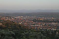 Sitting pretty (crowfoto) Tags: city tübingen tuebingen sunset sonnenuntergang bäume blüten schwäbischealb