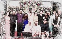 (Yazed Lord) Tags: wedding pose lineup bawas parsi parsis sketch drawing like smile smiles