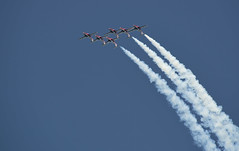 Back loop (mysticislandphoto) Tags: aircraft airshow jet ct114 snowbirds canadianforces formation comox