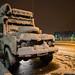 Frio e neve em Amasya