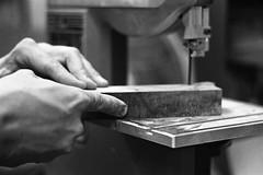 Pietro Paroletti - Woodworker (Federico Pitto) Tags: bw genova nikonfe2 d76 trix volna380mmf28