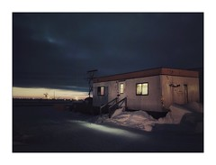 Vacation rental (Ryan Kimball) Tags: fuji fujix30 compact landscape sunrise arctic trailor snow winter frozen winterscape early cold ice fujifilm xseries smallcamera seriouscompacts