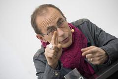 photoset: Secession: Jean-Luc Moulène - Eröffnung & Gespräch (5.4.2017)
