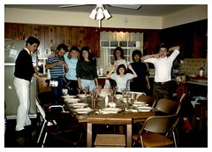 11/26/87 (mavra_chang) Tags: scanned momsphotograph family thanksgiving thanksgiving1987