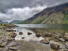 Wastwater (Ian Gedge - Thanks for 1 Million views) Tags: england uk britain cumbria lake lakedistrict wastwater water rocks mountains clouds