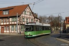 Halberstadt GT4 167 in der Voigtei, 31.03.2017 by Tramfan2011 -