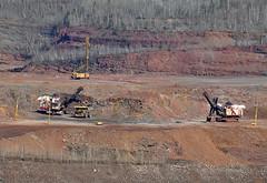 04-05-2017 Loading and Drilling (Missabefan) Tags: hibbing hibbingtaconite hibtac hullrust heavyequipment komatsu caterpillar electricshovel