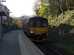 150102 Penryn (1) (Marky7890) Tags: gwr 150102 class150 sprinter 2t69 penryn railway cornwall maritimeline train