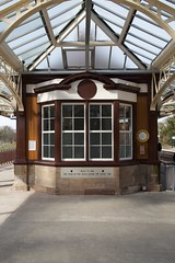 Gleneagles Railway Station (itmpa) Tags: gleneaglesrailwaystation gleneagles railwaystation 1919 1910s jamesmiller listed categoryb restored refurbished networkrail scotrail railway caledonianrailway architecturalheritagesocietyofscotland ahss studytour straightfromthecamera unedited nophotoshop scotland archhist itmpa tomparnell canon 6d canon6d