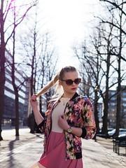 Playful spring (asaamane) Tags: fashion jaanaviren kotka miljöö muotokuva tfcd casual tyttö