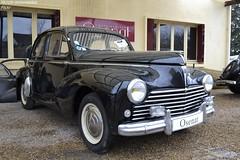 Peugeot 203 1958 (Monde-Auto Passion Photos) Tags: voiture vehicule auto automobile peugeot 203 berline noir ancienne collection rare rareté france moretsurloing vente enchère osenat