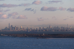 NYC & Sandy Hook View from Mt. Mitchill (aka Buddy) Tags: 2017 spring new york city ny nyc skyline sandy hook atlantichighlands nj og