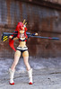 Revoltech Yoko (movie ver.) (Disaresta) Tags: yoko revoltech toyphotography toy poseablefigure animefigure anime tengentoppagurrenlagann gurrenlagann sexyfigure red figure