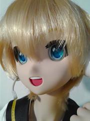 Happy Len- 6 (Sister Kyoya) Tags: len dds boy male volks sister ddh06 vocaloid lenkagamine dollfiedream wencon wenatchee