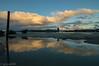 reflejos dsp de la lluvia (Giova lmDs) Tags: nubes reflejos ondas cielo atatrdecer rotorua lago lake sun clouds azule blue yellow amarillo reflecs landscape ladscapes viaje geissers