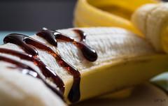 Glazed Banana (Explore) (FP_AM) Tags: macromondays glaze hmm macro tamron90mm canon7dmkii banana explore inexplore