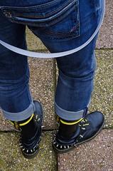 DSRL-10 (1356x2048) (Stevecollection2008) Tags: pentaxk5ii pentaxsmcda35mmf24al drmartenssteeltoe1940zblackfinehaircell topmanbraces topshop tommyhilfigerstokesjeans goi poloshirt yellowlaces yellowtipped ralphlauren denimsupply flightjacket bomberjacket bootstraps
