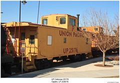 UP Caboose 25176 (Robert W. Thomson) Tags: up unionpacific caboose cab cabcar cabincar hack train trains traincar railcar rollingstock railroad railway ogden utah