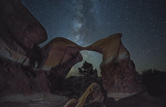 Metate (Night Scapes) Tags: steverengers milkyway nightphotography nightsky moab utah devilsgarden