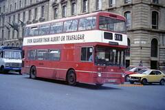 Mybus, Hadfield JND 981N (SelmerOrSelnec) Tags: mybus hadfield daimler fleetline northerncounties jnd981n manchester portlandstreet gmt warrington bus