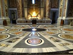 St Peter's, Rome (Sheepdog Rex) Tags: floors stpeters basilica rome