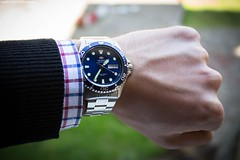 Beautiful Orient Blue Ray II (Andrija Zecevic Photography) Tags: canon eos 700d kit lens lenses 1855mm is stm orient blue ray ii 2 bluerayii orientbluerayii watch watches luxury style stylish detail details bokeh bokehphotography beyondbokeh photo photos photography detailphotography light lights daylight