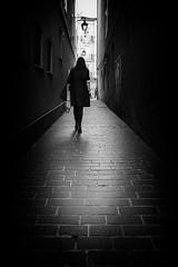 - (iker_oa) Tags: blackandwhite blanco y negro contraste sombras shadows city street ciudad calle vitoria canon 6d
