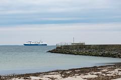 Passing by.. (ThomasMaribo) Tags: cruise ship langeland nikon d5300 1855 denmark danmark sea shore liner color colour seascape snapshot