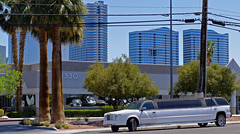 limo hack (what's_the_frequency) Tags: limo limousine limohack bentley chevy chevrolet stretch lasvegas sincity clarkcounty nevada calnevari spring april springtime city cityscape palm palmtree fuji x30