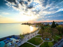 Friedrichshafen Sunset 02 – DJI Phantom Drone (SkyerUAS) Tags: drone dji aerial djiphantom ernesto skyer overwater germany lakeconstance bodensee sunset friedrichshafen