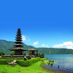 (qatarairways) Tags: bali bedugul asia balinese hindu indonesia lake park scenery sky temple