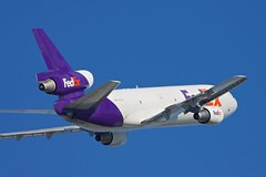 Despatched (nxgphotos) Tags: n372fe bostonloganairport fedex mcdonnelldouglasmd1010f