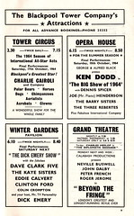 Blackpool vs Sunderland - 1964 - Page 9 (The Sky Strikers) Tags: blackpool football club sunderland league division one bloomfield road official programme 4d