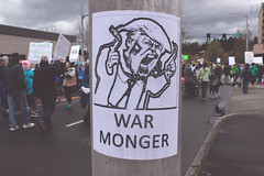 war monger (FADICH PHOTOGRAPHY) Tags: science march themarchforscience 2017 april earthday earth day lisaparshley activism protest olympia washington environmentalism gogreen clean energy vote womenofscience climatechange climate change global warming poverty war drought resourcescarcity fucktrump drumpf donaldtrump warmonger