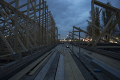 The Way (georgehuthart) Tags: nightshooters nightshot roofers roofing construction builders rooftruss eos5d can canonshot canonimage canonlens lowlightphoto