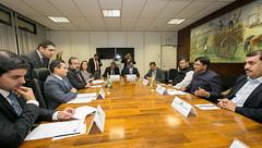 Delegação Indiana - 19/04/2017 (mdic.gov.br) Tags: índia mdic ministro marcos pereira transportes rodoviários produtos químicos mansukh mandaviya