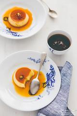 Chamomile Saffron Cream Caramel-by Meeta K. Wolf-9 (Meeta Wolff @ What's For Lunch, Honey?) Tags: meetakwolff meetak dessert food foodphotography photography presentation saffron styling
