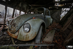 Discover your own paradise (Abandoned Rurex World.) Tags: automobile abandonné abandon hdr 2017 urban urbex rurex mga explored abandoned house lost place old vintage decay derelict ue exploration urbaine canon 1022mm 70d forgotten home memento mori 1967 vw beetle