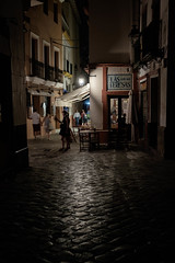 Café - Bar Las Teresas (fruizh) Tags: sevilla nocturna 2016 callejeando barriodesantacruz bar fruizh