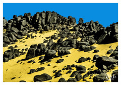 Tassili n'Ajjer / طاسيلي ناجر - Algérie (1981) الجزائر (christian_lemale) Tags: djanet جانت tassili طاسيلي najjer ناجر algérie الجزائر algeria 1981