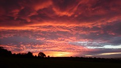 My valley sunset (DavidSteele31) Tags: sunset clouds valley sheffield red sky night