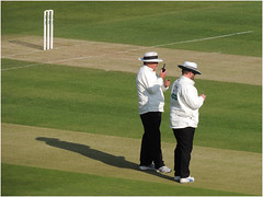 """Day 112 """"Two pints of bitter for close of play"""" (Dominic@Caterham) Tags: cricket lords wicket"""