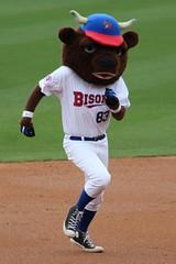 Buster (jmaxtours) Tags: cocacolafield buffalonewyork buffalo buster buffalobisons bisons baseball mascot