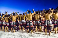 Kecak Dance, Bali: Blue Hour! (Rajan Raju) Tags: kecakdance art dance asia uluwatu indonesia bali ramayana