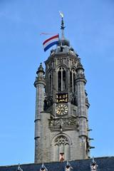 Lange Jan met vlag (Omroep Zeeland) Tags: koningsdag middelburg 2017 koningsdag2017 langejan