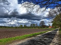 Mein täglicher Radweg... (Wallus2010) Tags: wolken radfahren weg früling april nikon p900